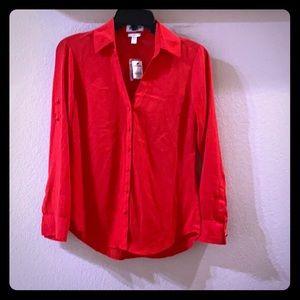 ♥️NEW adorable Express Red Portofino dressy …